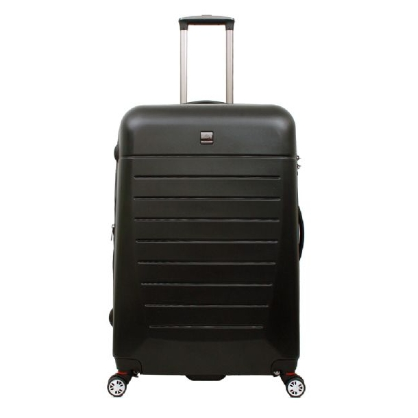 Superbly DUBAI Trolley 4 hjul Kuffert Sort - Bon Gout kufferter DD67