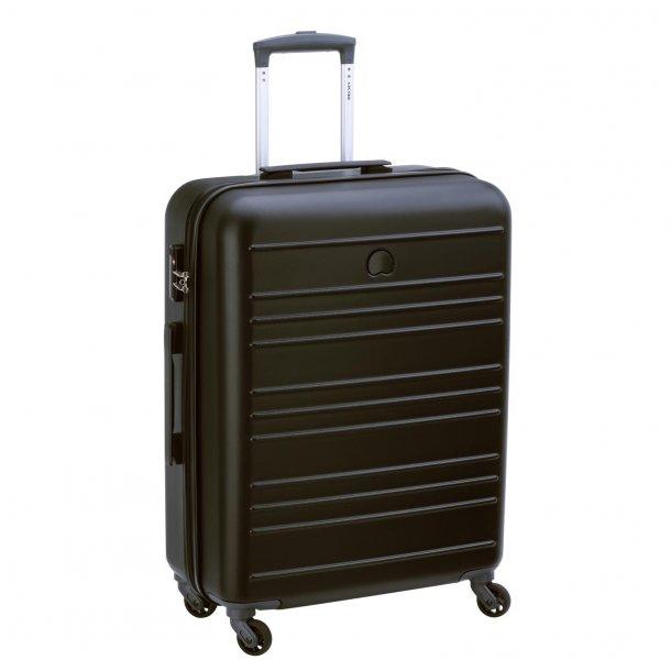 Delsey Carlit Black 3 stk kuffert sæt