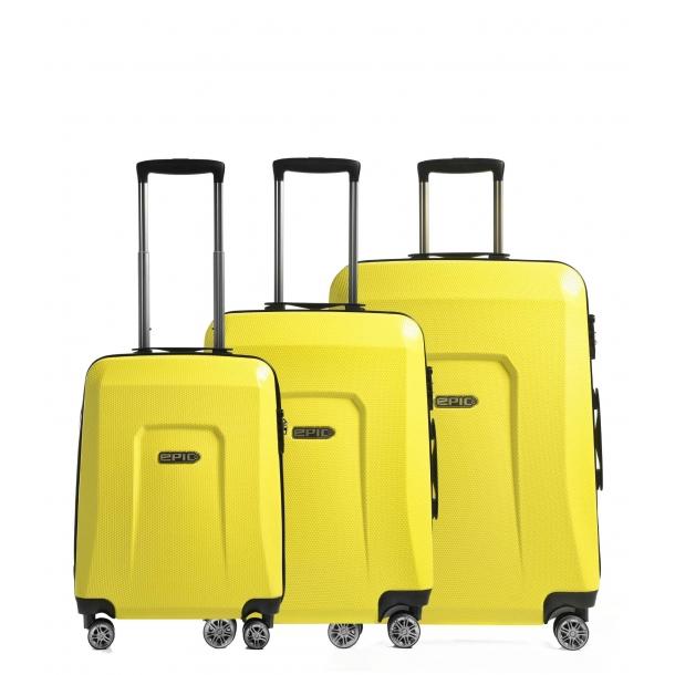 EPIC HDX 4 hjul trolley Yellow
