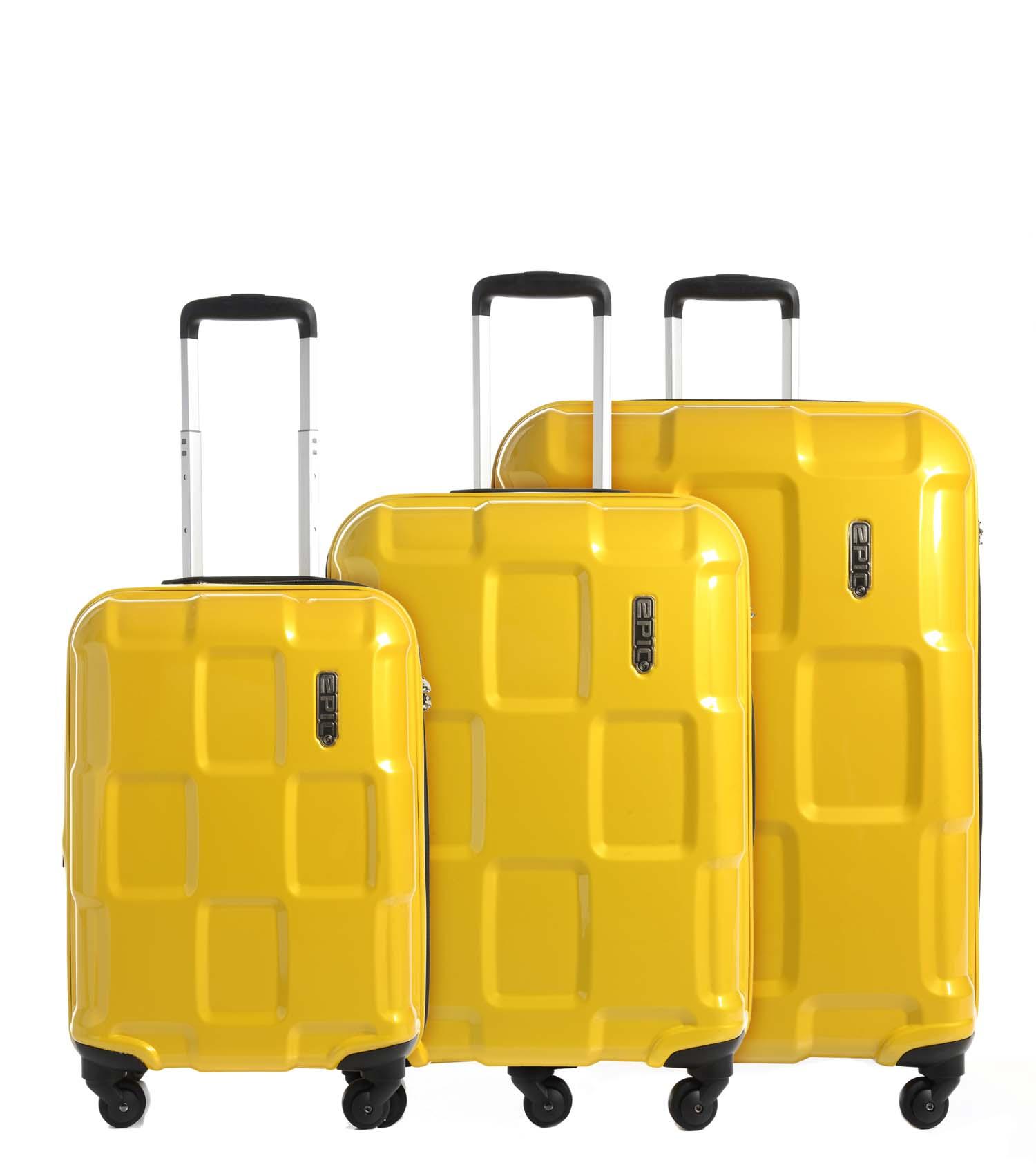 Lækker EPIC kufferter | Kvalitet, design og funktionalitet, der går hånd CR-34