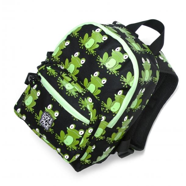 Pick & Pack Rygsæk Frog Sort/grøn