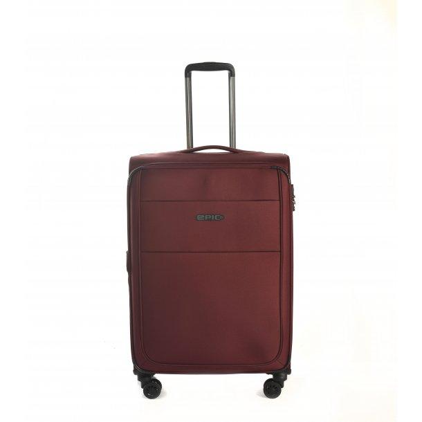 EPIC Discovery Ultra 4 hjul & TSA lås Burgundy kuffert