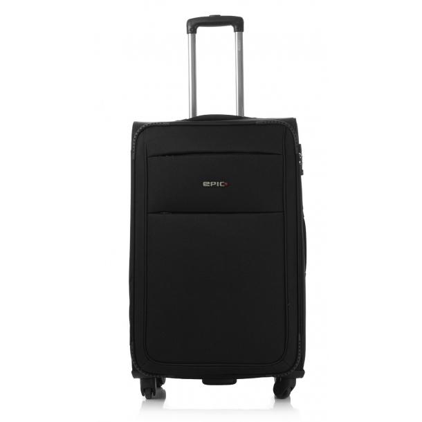 EPIC Discovery Ultra 4 hjul & TSA lås Sort kuffert