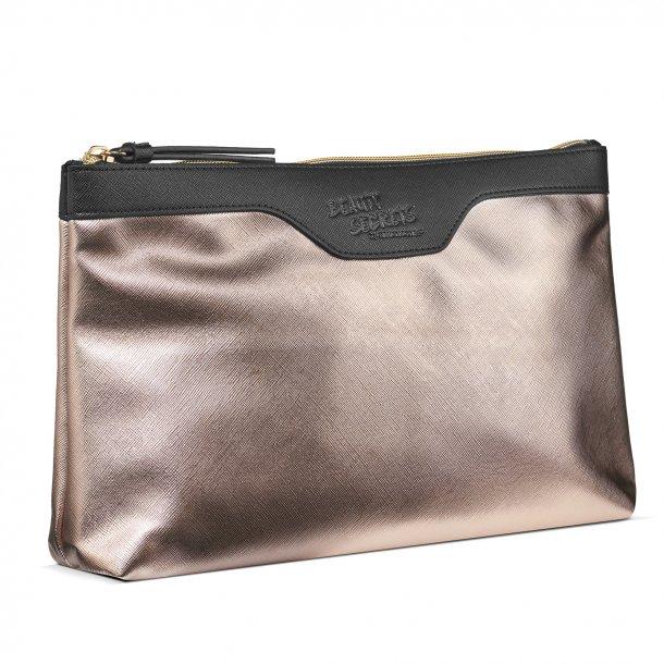 Kosmetik taske Beauty Secrets by Gillian Jones Gold Metallic