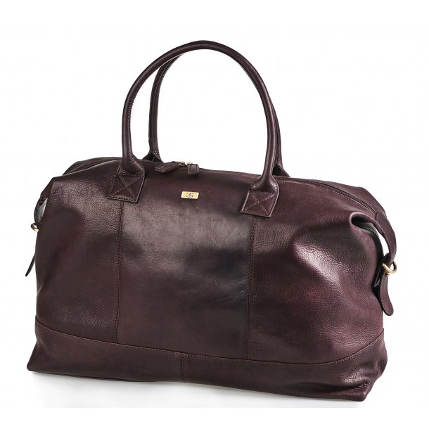 Bon Gout Columbia Brun  rejsetaske i eksklusivt læder