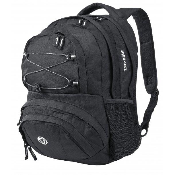 Travelite BASIC Carry-On rygsæk SORT