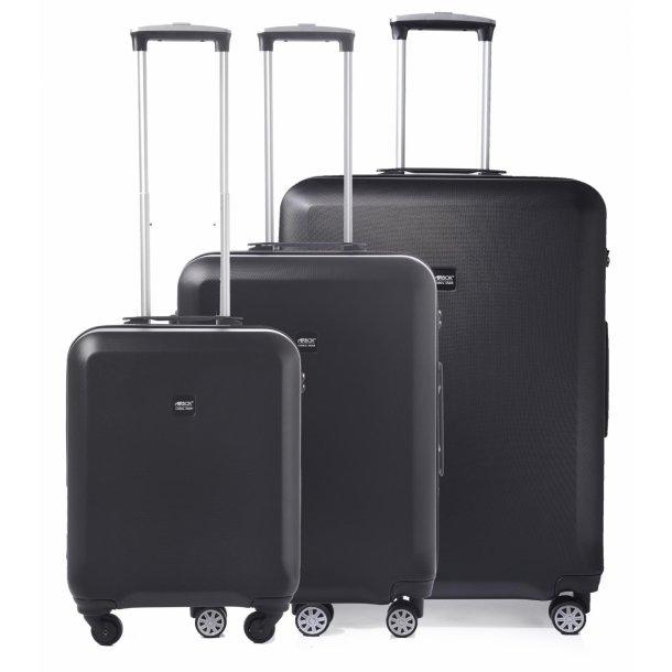 AirBox AZ 8 Sort Kuffertsæt