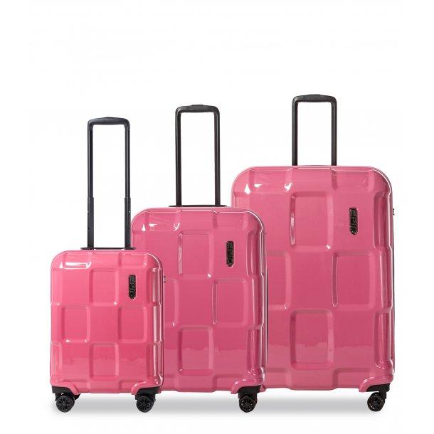 EPIC Crate Ex Solid StrawberryPink kuffertsæt