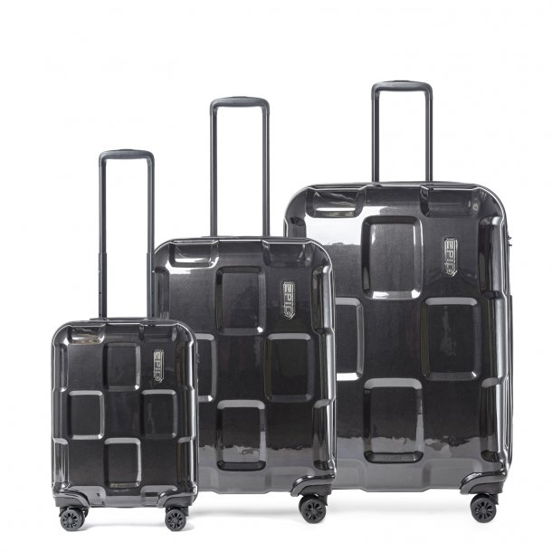 EPIC Crate Ex Solid BlackMetal kuffertsæt