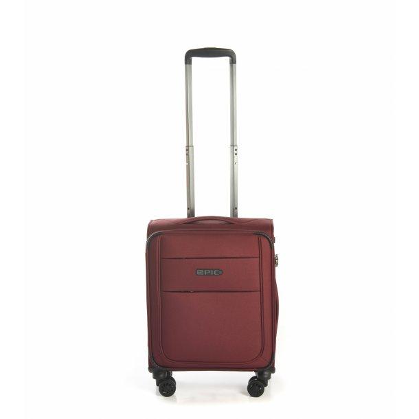 Discovery Ultra kabine kuffert 55cm SLIMMAX Burgundy Red 4 hjul
