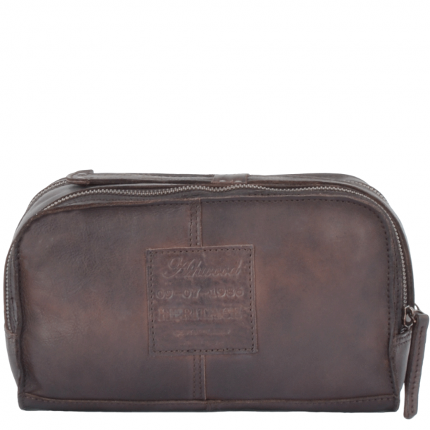 ASHWOOD Leather Vintage Wash Bag Brown