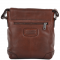 ASHWOOD 3 Pocket Luxury Small Leather Flight Bag- Jack - Tan