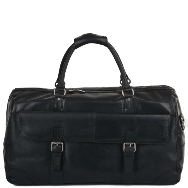 ASHWOOD Leather Travel Bag, FRANCIS HOLD ALL RHODE