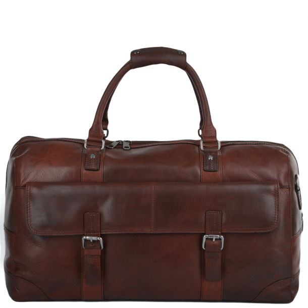 ASHWOOD Leather Travel Bag, FRANCIS HOLD ALL RHODE TAN