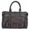 ASHWOOD Vintage Weekend Leather Holdall Brown
