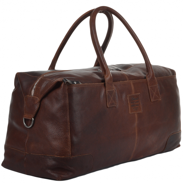ASHWOOD X-Large Leather Holdall TAN