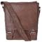 AshWood Messenger Bag Crumble TAN