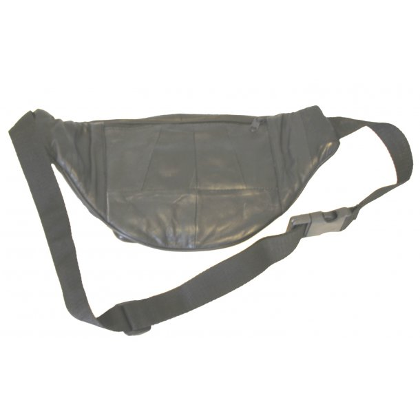 Bæltetaske i skind