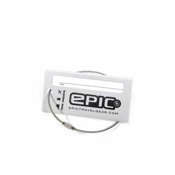 EPIC adresse skilt i metal