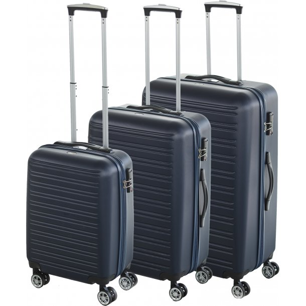 BonGout COLUMBIA series 77 BLUE kuffertsæt
