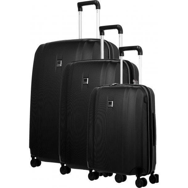 TITAN XENON Black kuffertsæt